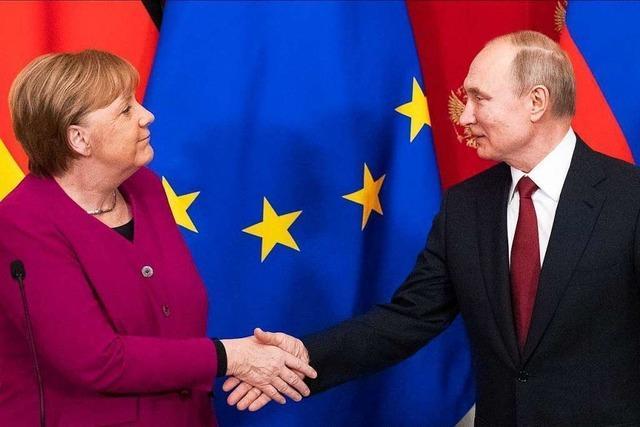 Merkel hat wenig Möglichkeiten für ein starkes Zeichen in Richtung Putin
