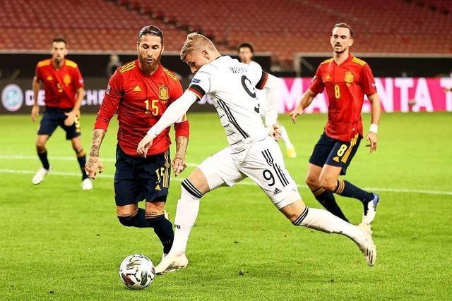 1:1 – Deutschland kassiert gegen Spanien späten Ausgleich