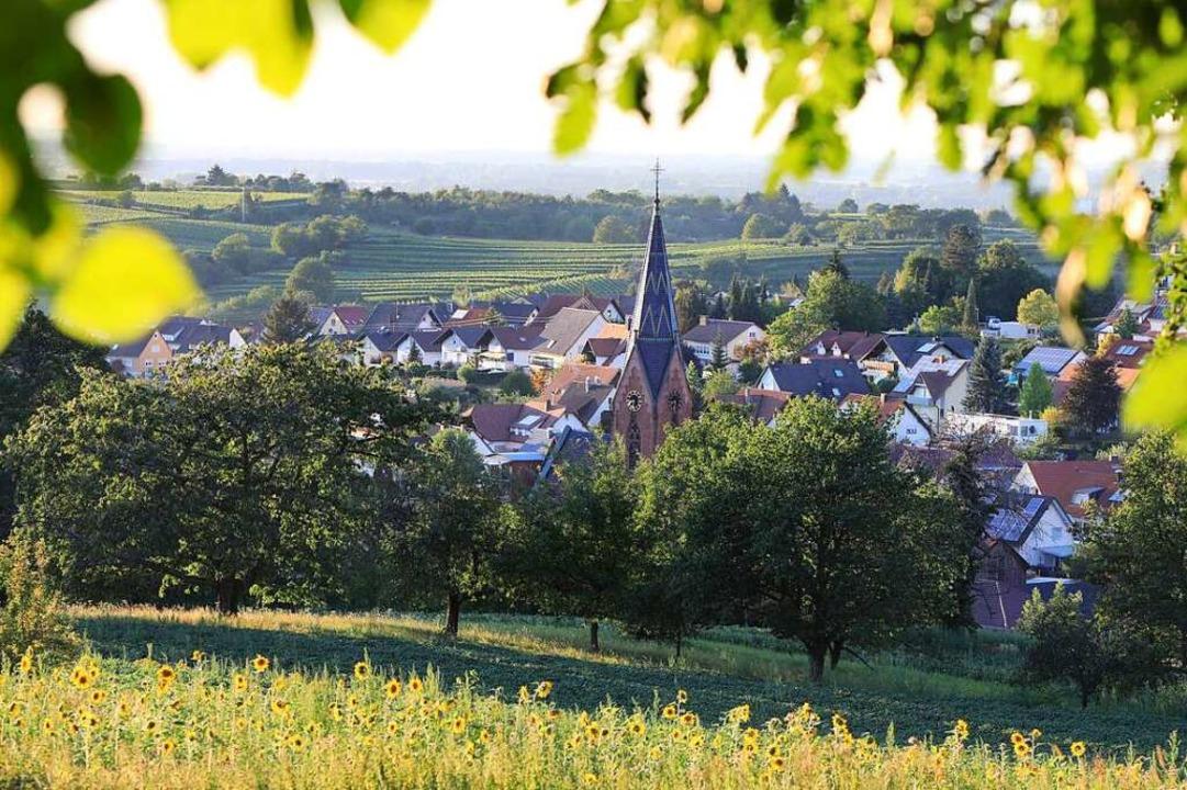 Friesenheim bietet ein höchst abwechslungsreiches Landschaftsbild.  | Foto: Christoph Breithaupt