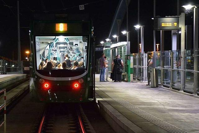Nutzung der Tramlinie 8 sinkt in Weil am Rhein um ein Drittel