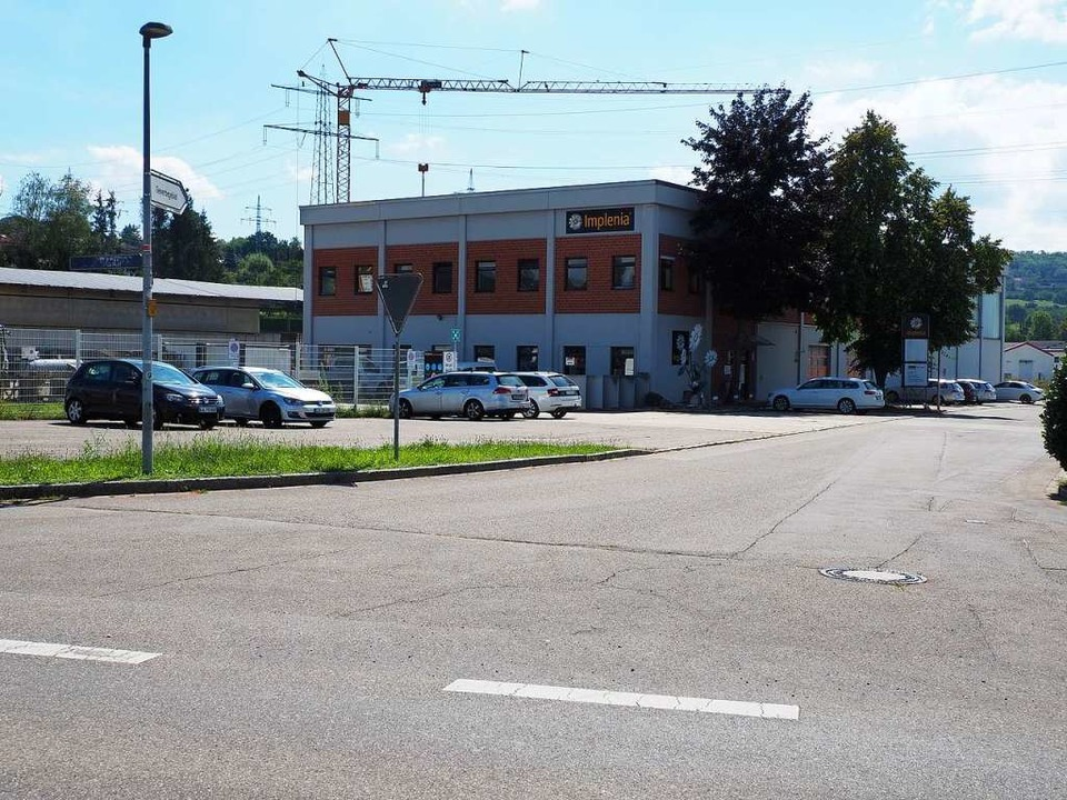 Das Gebäude von Implenia in Rümmingen  | Foto: Herbert Frey