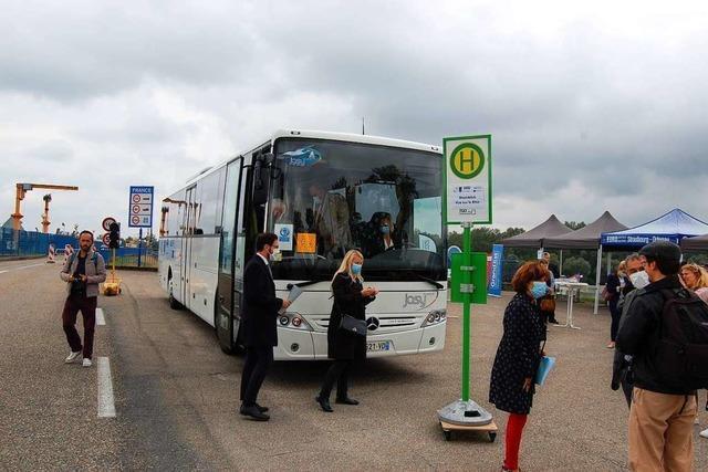 Die neue Buslinie macht noch nicht Halt in Schwanau-Nonnenweier – das soll sich ändern
