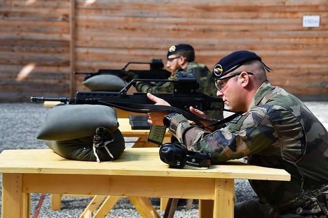 In Eschbach steht jetzt die modernste Schießanlage der Bundeswehr