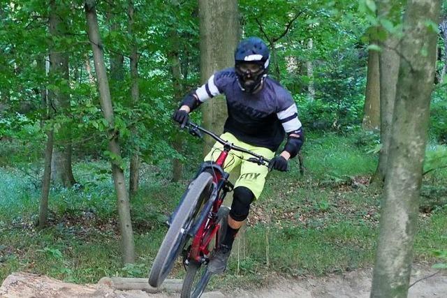 Der Hexentrail zwischen Horben und Merzhausen macht Mountainbiker süchtig