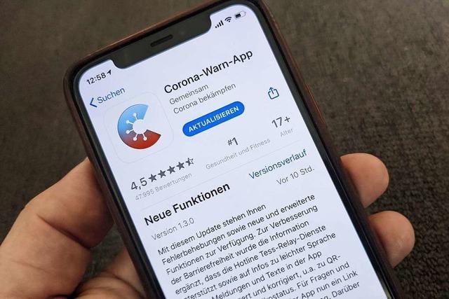 Aktuelle Corona-Warn-App behebt Fehler bei Hintergrund-Aktualisierung