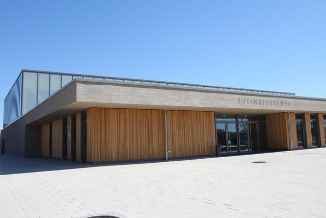 Die neue Rheingießenhalle in Rust ist fertig