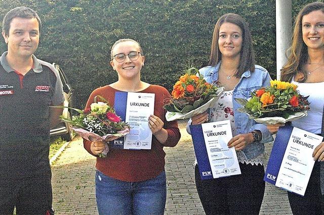 Drei Kammersiegerinnen