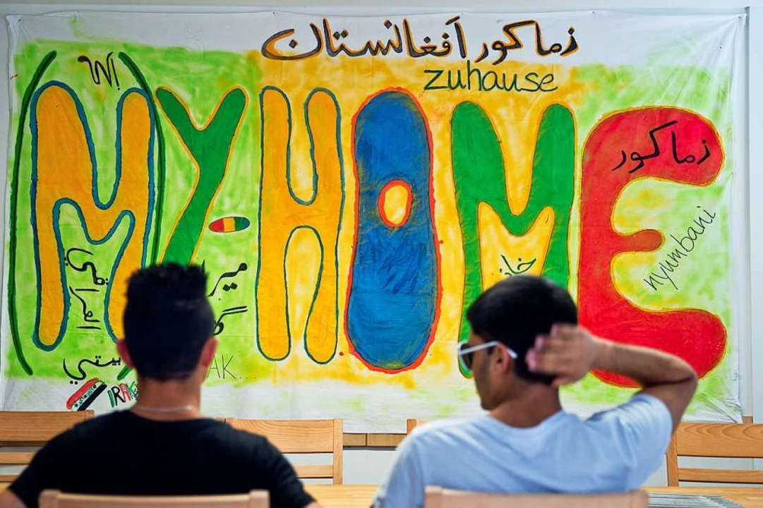 Sprachkurse sind ein wichtige Bestandt...Integration von geflüchteten Menschen.    Foto: Daniel Karmann