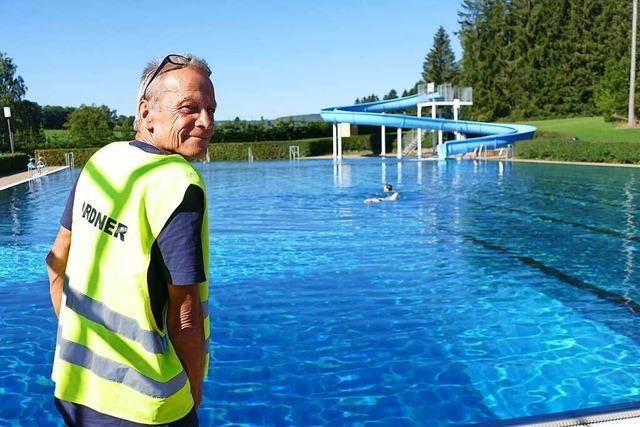 Warum sich Martin Tietze als freiwilliger Helfer für die Badesaison gemeldet hat