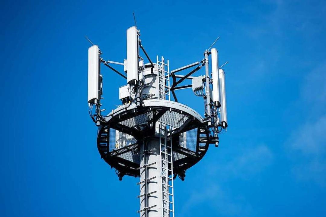 Bestehende Antennenmasten werden in Freiburg für 5 G umgerüstet (Archivbild).  | Foto: Jens Büttner