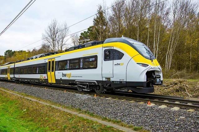 Neue Züge kommen im Rheintal und im Breisgau zum Einsatz
