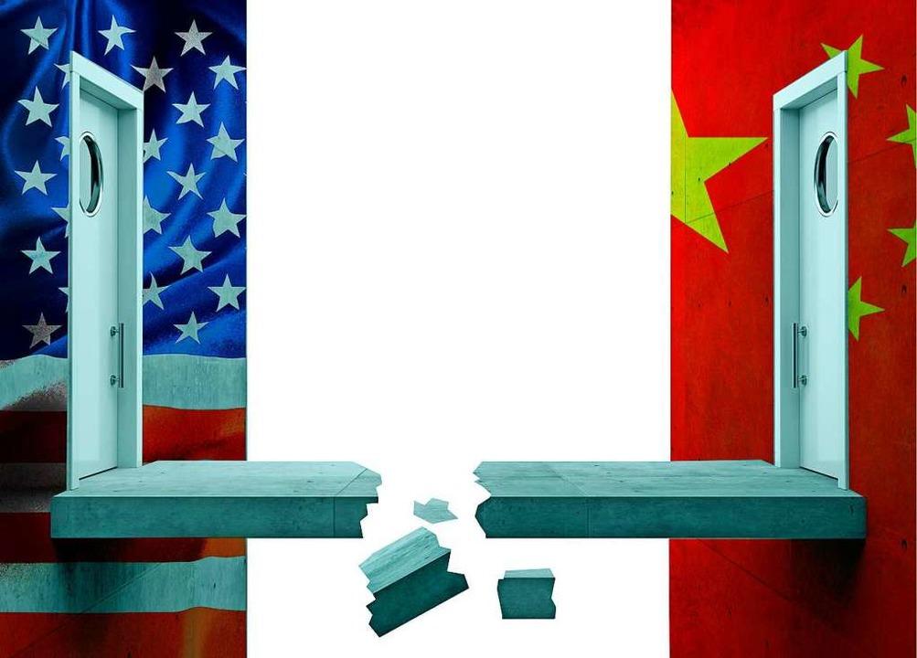 Das Verhältnis zwischen den USA und China ist zerrüttet.   | Foto: Lane Erickson/DenisK11