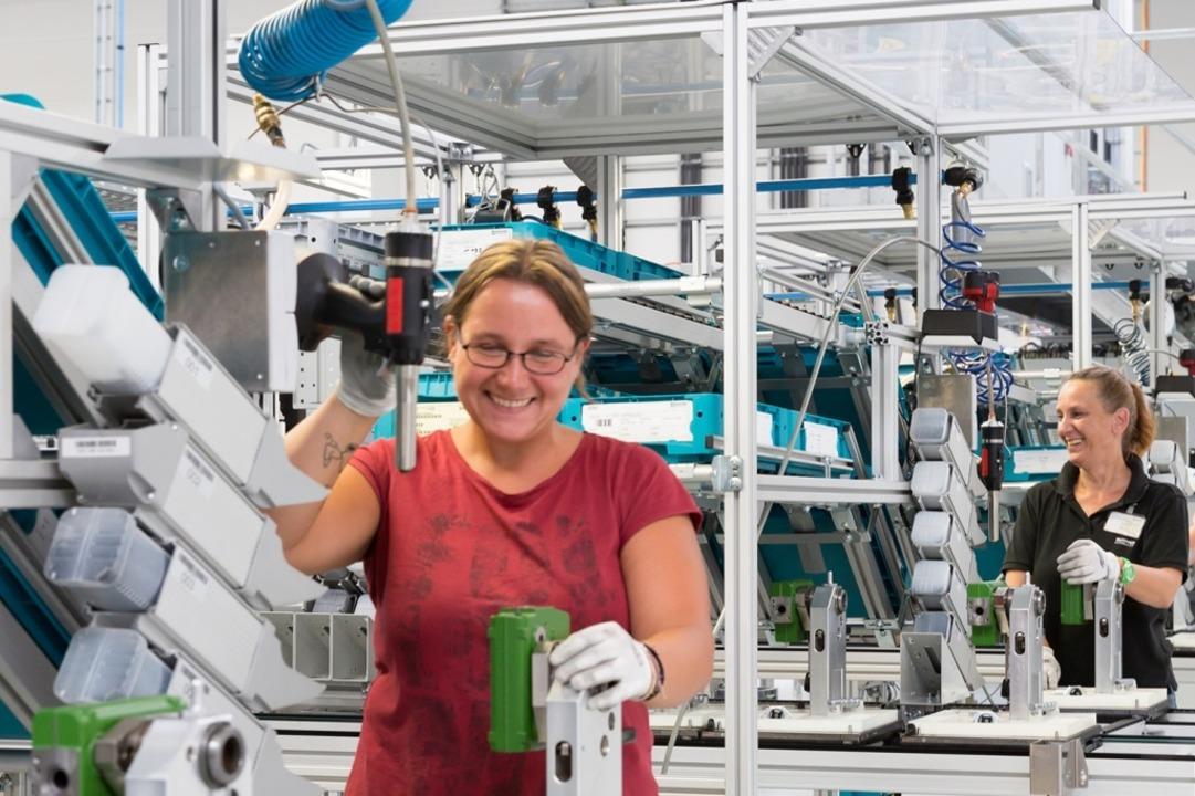 Produktion bei Bucher Hydraulics.  | Foto: GRANACHER info@simplexxx.de