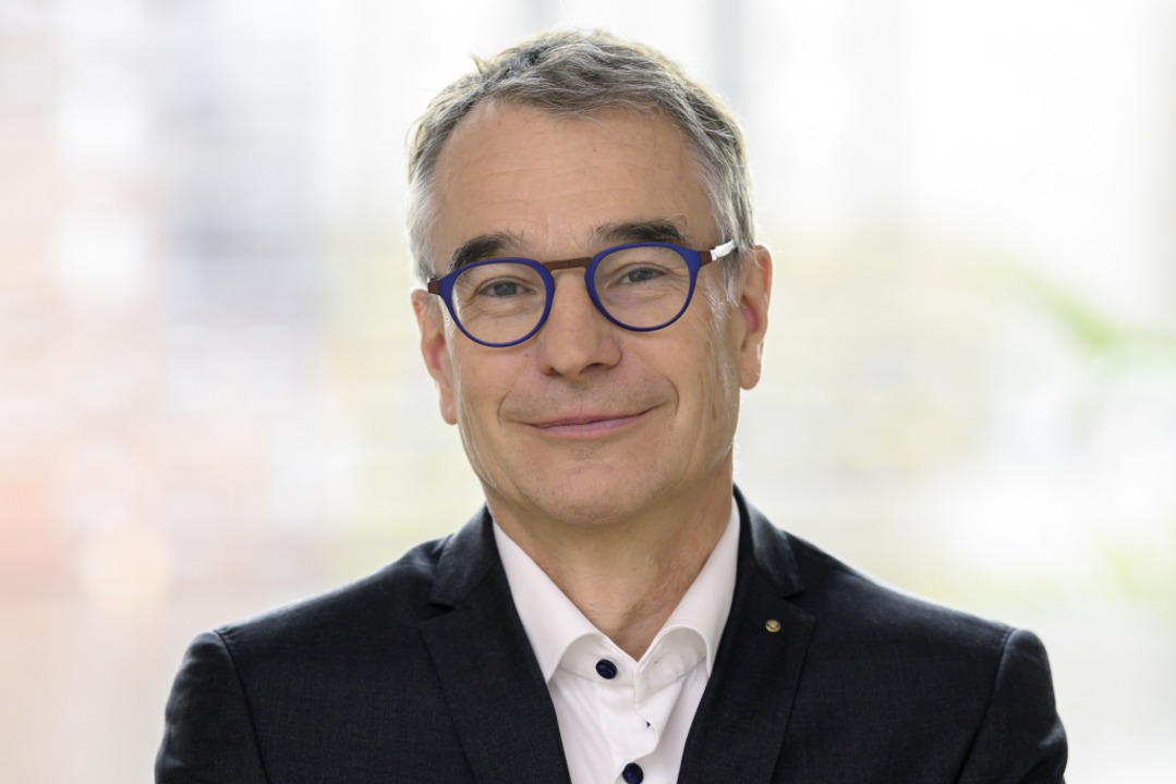 Martin Becker ist geschäftsführender Gesellschafter der Freiburger  KNF-Gruppe.  | Foto: KNF