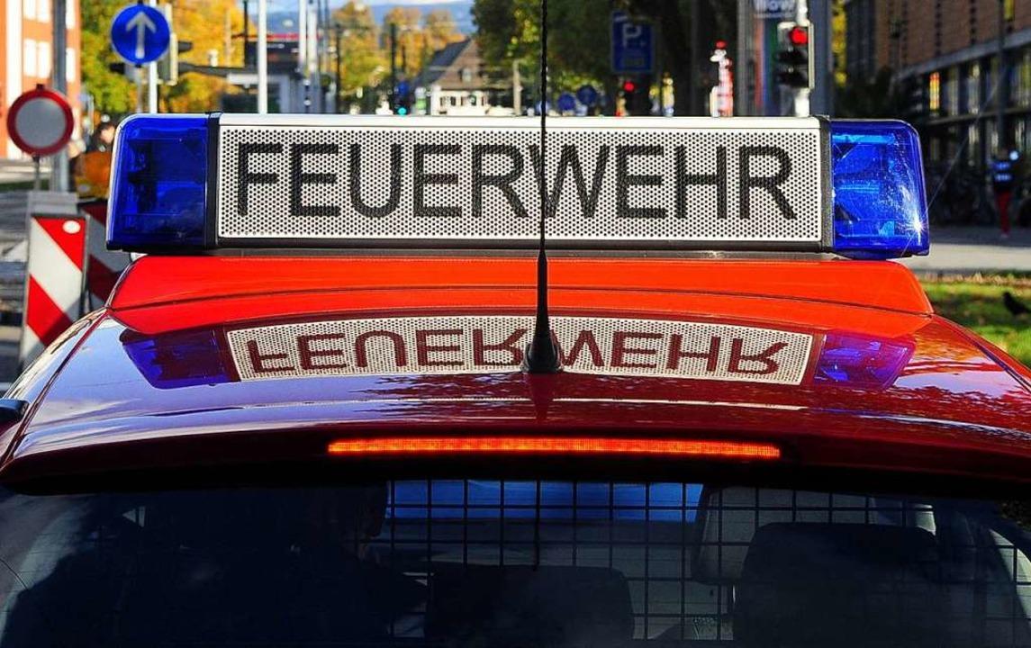 Die  Feuerwehr war am Samstag in Bahli...m Kaiserstuhl im Einsatz (Symbolbild).  | Foto: Kunz (honorarfrei) Thomas