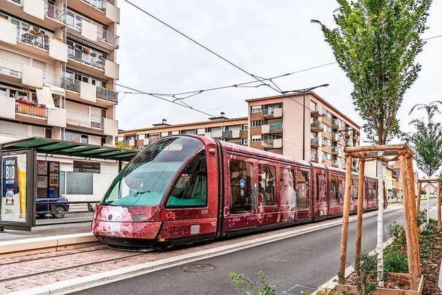 Der Stadtteil Koenigshoffen geht ans Tramnetz – günstiger Park & Ride-Tarif
