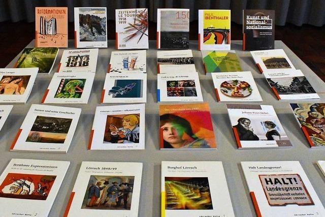 Lörracher Hefte liefern breite Informationen über Leben und Geschichte der Stadt