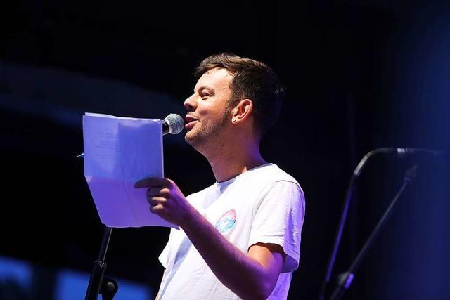 So lief der Poetry Slam zum Auftakt der Kulturtage in Lahr
