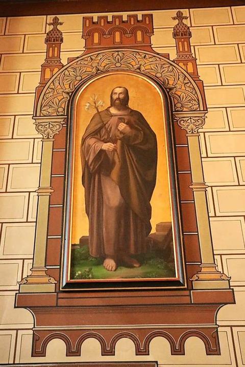 Auch dieses Bild des Heiligen Josef zierte einst den Altar der Stadtkirche.  | Foto: Martha Weishaar