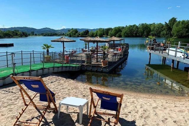 Weniger Badegäste, aber mehr Daheim-Urlauber im Offenburger Strandbad am Gifizsee