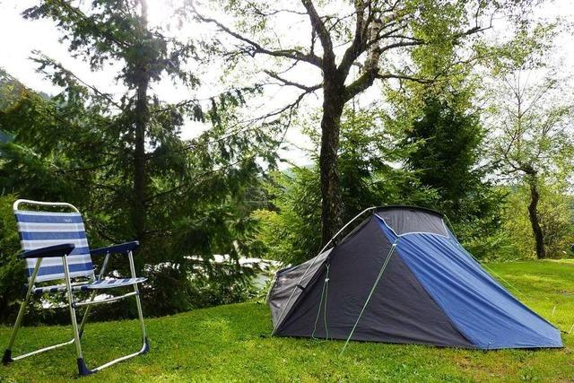 Campingurlaub ist auch am Kaiserstuhl und Tuniberg gefragt