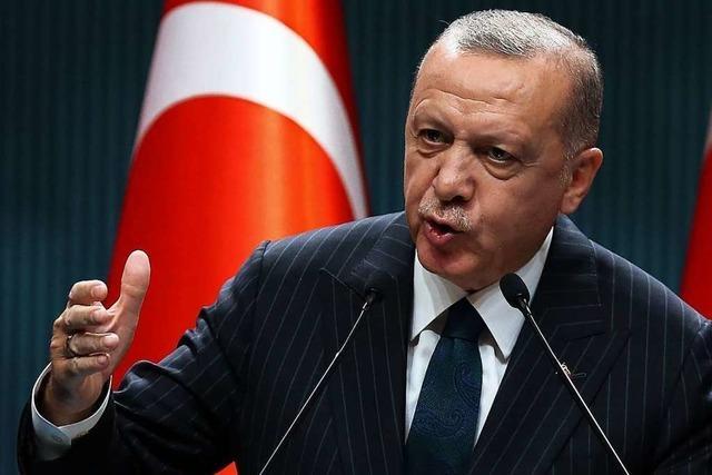 Erdogan schlägt im Konflikt mit Griechenland immer schärfere Töne an