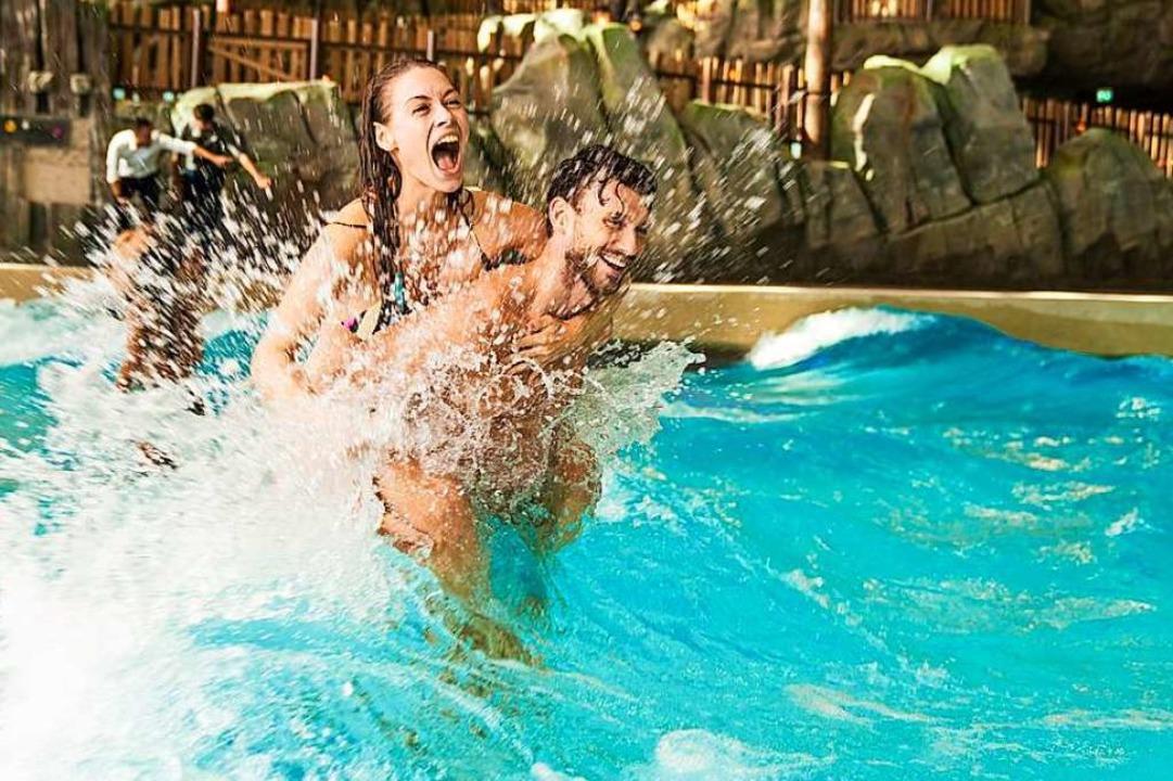 Spaß und Abstand: In Rulantica ist dan...ßzügiger Wasserflächen beides möglich.  | Foto: Europa-Park