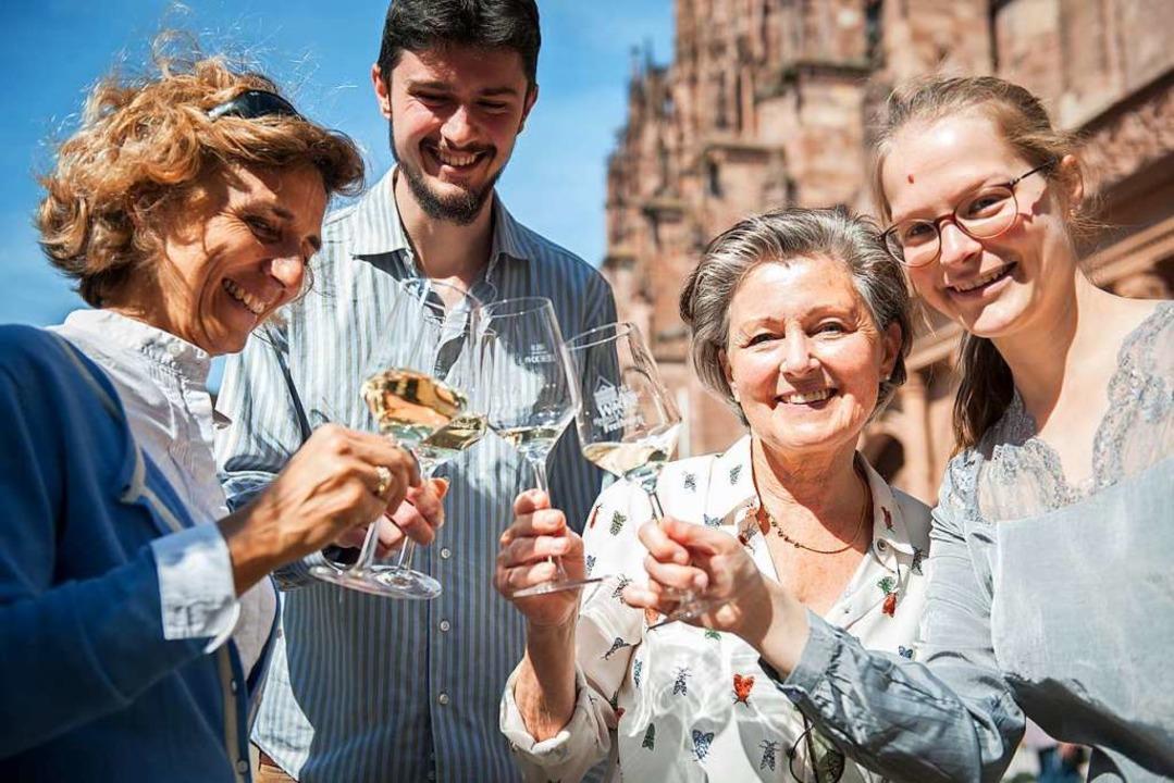 Lebendige Wein- und Stadtgeschichten v...lderbuchfassaden und mit Gaumenfreuden  | Foto: FREIBURGerLEBEN