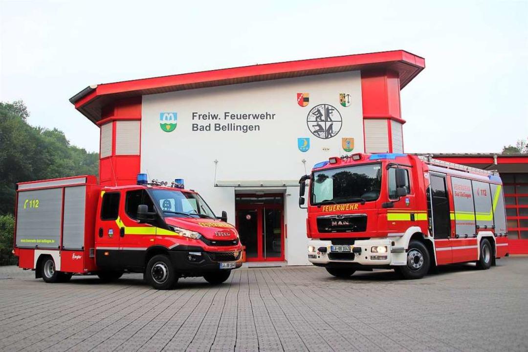 Die Freiwillige Feuerwehr Bad Bellinge...nenden Hochsitz gelöscht (Symbolbild).    Foto: Feuerwehr Bad Bellingen