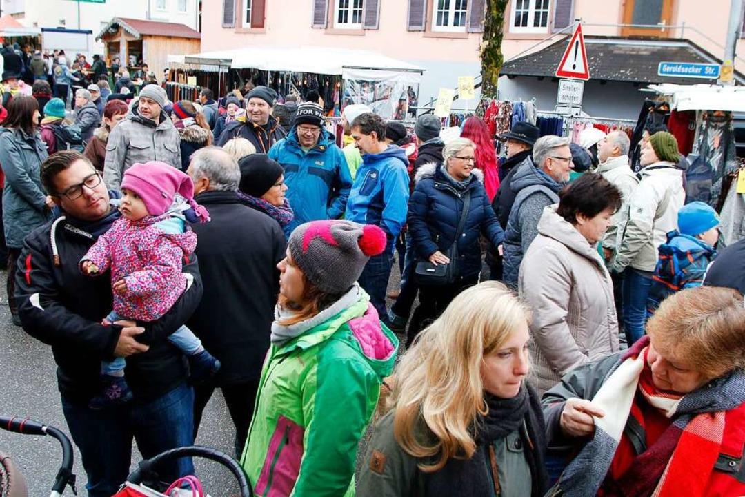 Wird es dieses Jahr aller Voraussicht ...arinenmarkts in den Straßen Seelbachs.  | Foto: Heidi Foessel