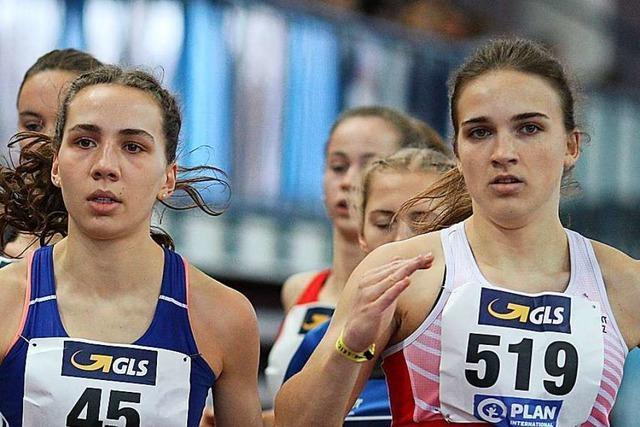 Valerie Koppler vom USC Freiburg ist deutsche U-18-Vizemeisterin über 800 Meter