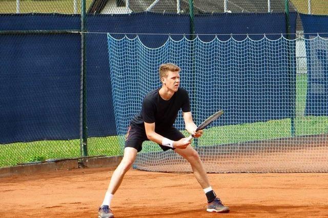 Der Ruster Hoppstädter triumphiert beim Tennis-Turnier in Ettenheim