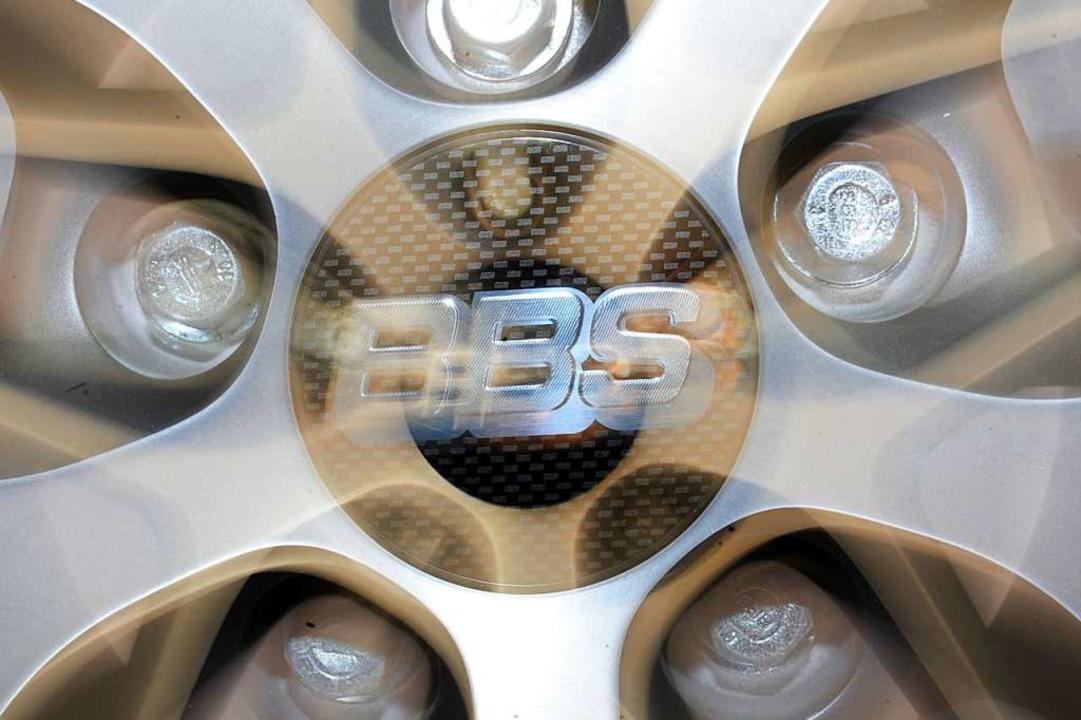 Leichtmetallfelgen von BBS  | Foto: Patrick Seeger (dpa)
