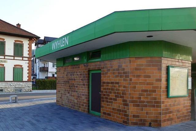 Die Sanierung des Bahnhofsgebäudes in Wyhlen beginnt wohl im Oktober
