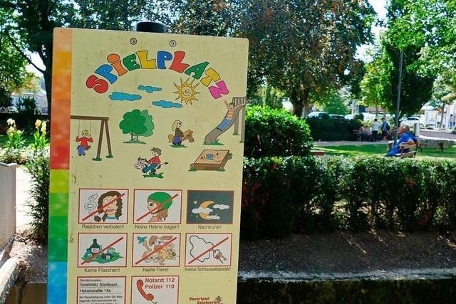 Für den Schopfheimer Stadtpark wird ein Alkoholverbot diskutiert