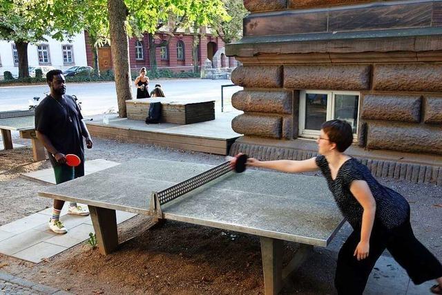 Rund 60 Tischtennisplatten laden in Freiburg zu spontanem Ausgleich ein