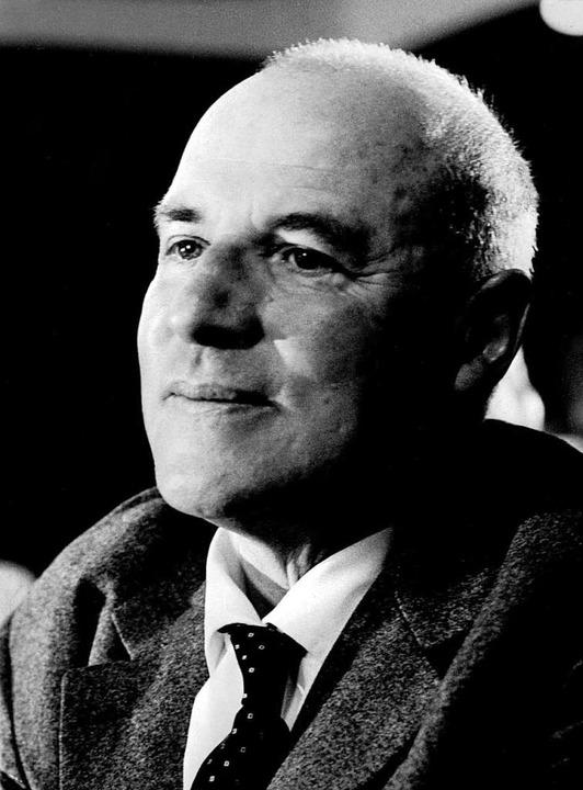 Egon Eiermann (1904 bis 1970)    Foto: dpa