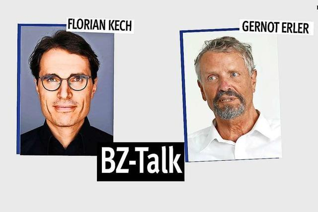 BZ-Talk mit Gernot Erler über Putins Russland und den Fall Nawalny