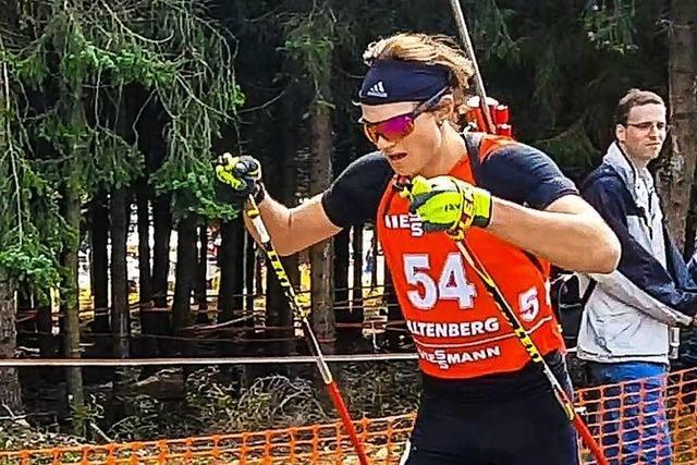 Wie der Wiedener Elias Asal seine erste Biathlon-DM erlebt hat