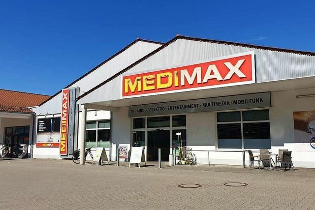 Waldkircher Elektrofachmarkt Medimax schließt Mitte November