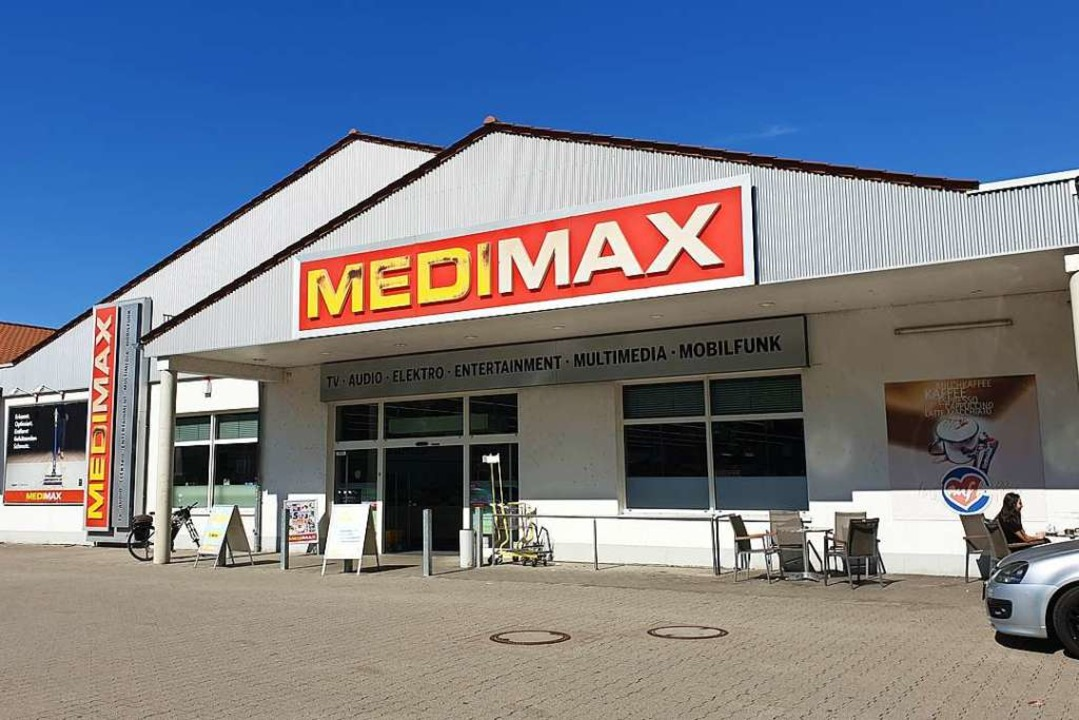 Die Waldkircher Medimax-Filiale  | Foto: Theresa Steudel