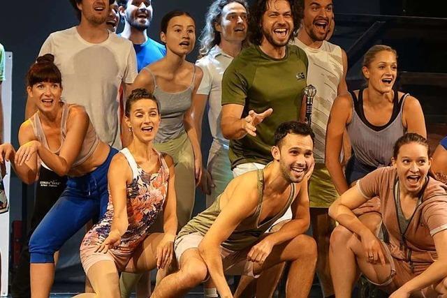 Proben zum Musical Tommy Tailors Traumfabrik laufen auf Hochtouren