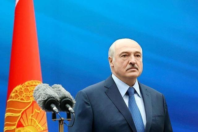 Lukaschenko – der gestrige Herrscher