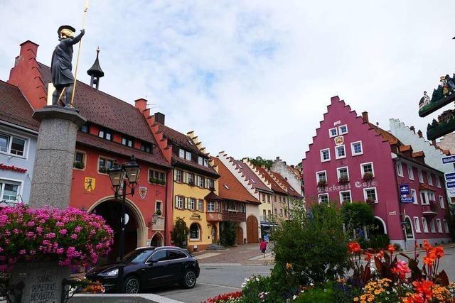 In der mittelalterlichen Innenstadt von Löffingen gibt es sogar WLAN