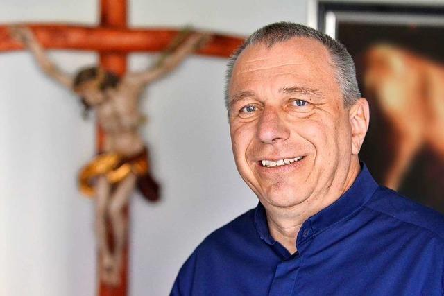 Winfrid Keller ist der neue Pfarrer für den Freiburger Osten