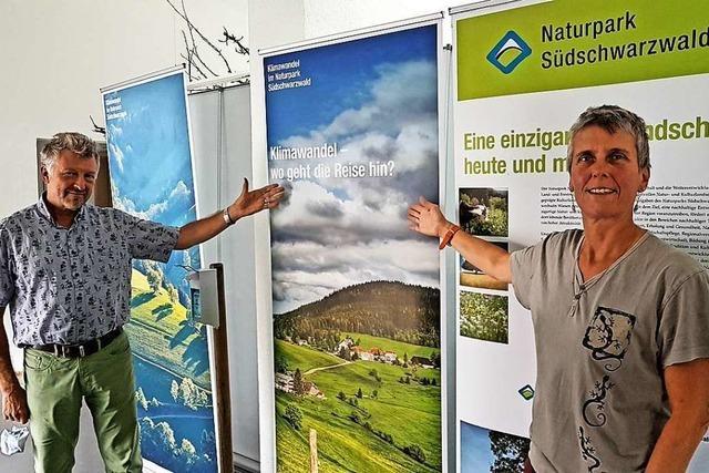 Eine Ausstellung im Kleinen Wiesental will die Wucht des Klimawandels aufzeigen