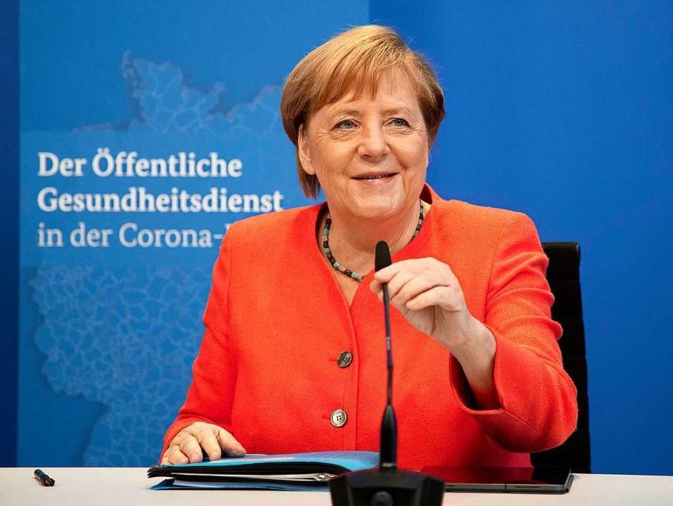 Bundeskanzlerin Angela Merkel  | Foto: Michael Sohn (dpa)