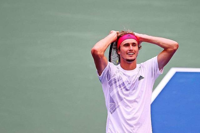 Alexander Zverev will ins US-Open-Finale: