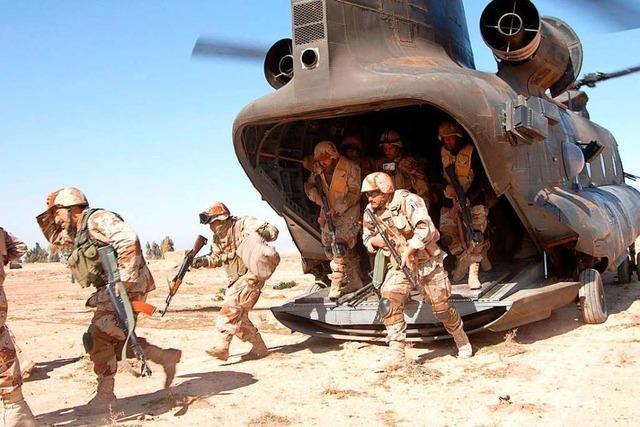 USA ziehen mehr als 2000 Soldaten aus dem Irak ab