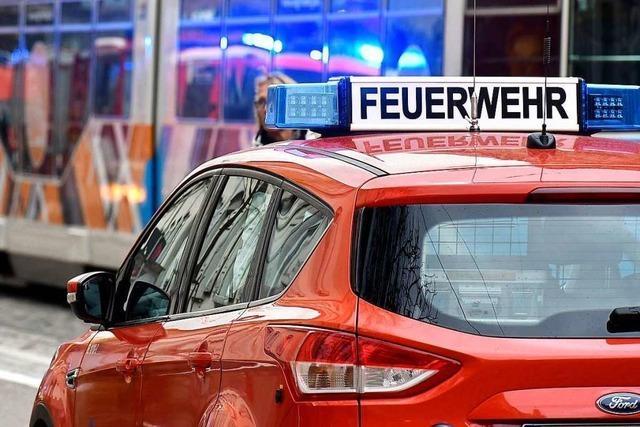 Kiosk auf Campingplatz in Freiburg-Hochdorf brennt erneut